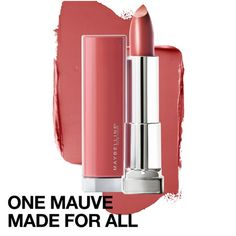 Maybelline New York Color Sensational Made for All Lipstick, Pink For Me, Satin Pink Lipstick, Ounce: Beauty Best Drugstore Lipstick, Maybelline Lipstick, Best Lipsticks, Pink Lipsticks, Mauve Lipstick, Lipstick For Fair Skin, Lipstick Shades, Lipstick Colors, Rose Mauve
