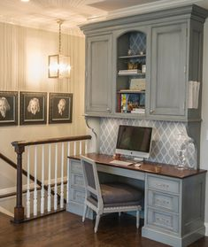 Simply Beautiful - Swedish Inspiration, Glen Ellyn, IL - traditional - home office - chicago - Past Basket Design