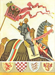 Gustaf tenggren King Arthur and the Knights of the round Table - 2