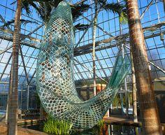 Standing Glass Fish / Frank Gehry / Walker Art Center Conservatory, Minneapolis