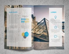 Ultra Clean Annual Report on Behance