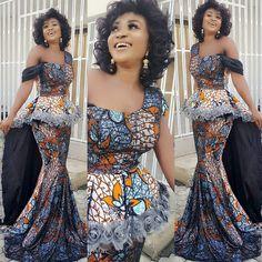 New latest ankara styles 2017 ankara fashion ankara dress ankara tops jumpsuits asoebi styles nigeria  owambe tailor