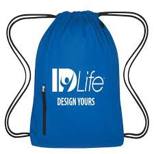Design Yours blue backpack