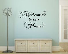 Welcome Wall Decor pinstefania on welcome * | pinterest | vinyl wall quotes