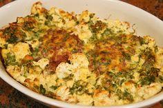 """Elmira paleo konyhája: """"Besameles"""" húspogácsa karfiollal"""