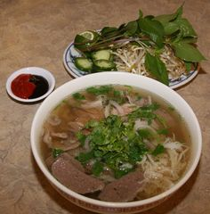 PHO!!! Oh how my daughter and I love you so. If only I had noodles and bean sprouts, I could make you right now. Sigh.