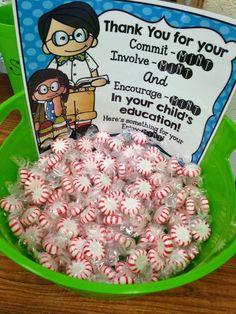 Great idea for teacher nights!!http://schoolandthecityblog.blogspot.com/2014/09/open-house-meet-teacher-night.html?m=0