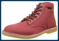 Kickers Damen Orilegend Kurzschaft Stiefel, Rot (Rot), 42 EU - Stiefel für frauen (*Partner-Link)