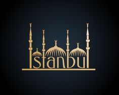 """""""ISTANBUL"""" Logo design by Vector Frenzy  #Logo #Design #Istanbul #City Available for sale:http://brandcrowd.com/logo-design/details/100026"""