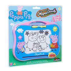 Peppa Pig Magna Doodle - Draw Stamp Erase No Mess Drawing Fun! Toys For Girls, Kids Toys, Peppa Pig World, Peppa Pig Teddy, Advent Calendars For Kids, Little Library, Doodle Drawings, Pigs, Travel Size Products