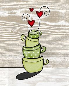 i heart kitchens print set-Buy both together and save by vol25