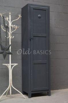 Lockerkast Isac - Donkergrijs | 1-1504-026 | Old BASICS