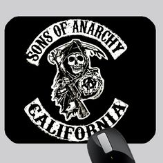 awesome SOA SONS OF ANARCHY PHOTO MOUSE PAD Custom Mouse Pads, Sons Of Anarchy, Harley Davidson, Awesome, Be Awesome