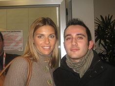 Io e Martina Colombari