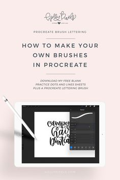 how-to-make-your-own-brushes-in-procreate-pinterest