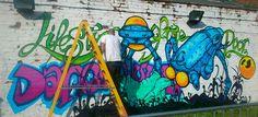 Street art Birmingham City uk taken on June 18 2016 taken by ginge