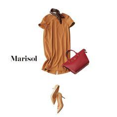 涼しく快適な大人ワンピはアラフォーにとって蒸し暑い日の強い味方Marisol ONLINE|女っぷり上々!40代をもっとキレイに。
