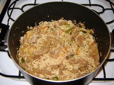 Low Carb Beef Lo Mein:  Cube steak, cut into strips, marinated in Ginger, Soy Sauce, Worcestershire Sauce and Sesame oil. Cooked until tender, set aside.  Mushrooms, green onions, garlic, and a handful of slaw mix (I was lazy) stir fried in sesame oil with a bit of soy sauce. Shiritaki noodles thrown in when the vegetables just lose their crispness. Stir fry together for 2 minutes.  Toss the meat back in, stir fry until it is all nice and hot.