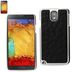 Reiko Plating PC+TPU Cover With Bubble Pattern Samsung Galaxy Note3 Black