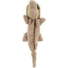 Nandog My BFF Striped Corduroy Plush Toy-Tan Alligator