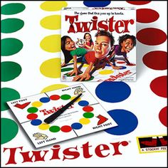 Twister (Not your typical board game, but it sure puts a spin on too much family togetherness!) Right foot green, left hand red. Spin the dial and let the silliness begin! Ages 6+.