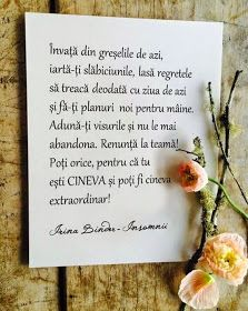 IRINA BINDER - Insomnii: Citate - Irina Binder Happy Birthday Sister, Birthday Wishes, Book Quotes, Life Quotes, Motivational Quotes, Inspirational Quotes, Facebook Image, True Words, Spiritual Quotes