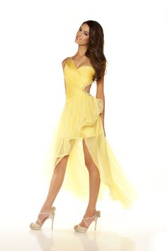 Lemon. Love the dress and color