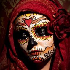 Overall the tutorial, the photo shoot and the final result features a very distinctive and eclecticrepresentation of the Mexican sugar skulls. Description from skullsproject.wordpress.com. I searched for this on bing.com/images