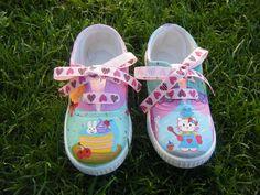 zapatillas pintadas a mano #kukis