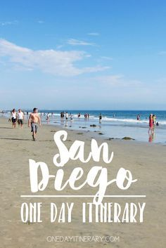 San Diego, California - One day itinerary