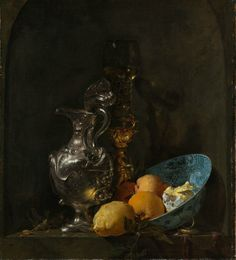 Willem Kalf, Still Life with a Chinese bowl, a Nautilus Cup and Fruit, 1662. Courtesy the Rijksmuseum