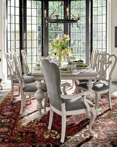Andres Dining Furniture at Horchow.
