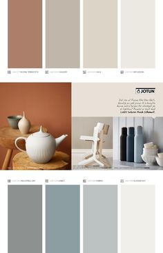 Issuu Jotun Lady Supreme Finish Pure Color By Jotun Dekorativ As Room Color Schemes, Room Colors, House Colors, Colours, Wall Paint Colors, Paint Colors For Home, Colorful Decor, Colorful Interiors, Jotun Paint