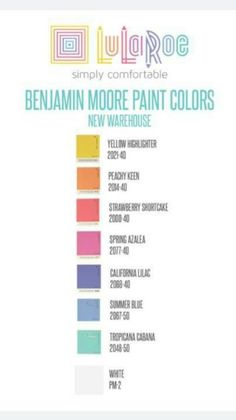 Paint colors, LLR approved!