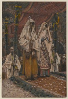 Brooklyn Museum - The Betrothal of the Holy Virgin and Saint Joseph  James Tissot .