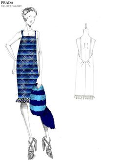 Miuccia Prada signe les costumes de The Great Gatsby