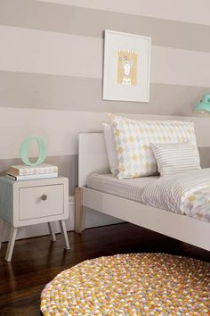 Stripes, Diamonds, Spots - Kids' Bedroom Ideas - Childrens Room, Furniture, Decorating (houseandgarden.co.uk)
