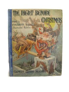 1942 The Night before Christmas illustrated by by mudintheUSA