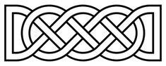 celtic horizontal knot