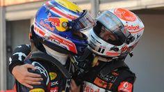 Love these 2 drivers! Mark Webber & Jenson Button.