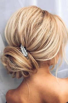 A wrapped low bun and a small bridesmaid hair updo, chic hairstyles, formal Chic Hairstyles, Best Wedding Hairstyles, Bride Hairstyles, Pretty Hairstyles, Bridesmaid Hairstyles, Bridesmaids Updos, Bridesmaid Hair 2018, Formal Hairstyles, Black Hairstyles