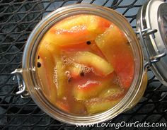 Aunt Joanne's Lacto-Fermented Watermelon Pickles Made from watermelon rind!