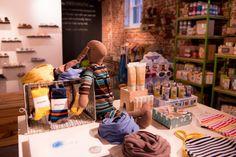 Recent Project: mini mioche Distillery Store | recreative works blog