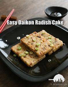 {recipe} Easy Daikon Radish Cake 蘿蔔糕