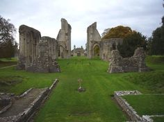 Shrouded in mystery and legend, Glastonbury Abbey is a highly atmospheric ruin in Somerset, southern England. The surviving buildings, dating from around 1200, stand on one of the oldest Christian sites in Britain and are fine examples of Norman architecture.