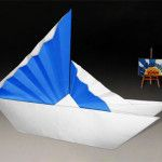Origami Chinese Ship http://eng.origami-kids.com/paper-boat/origami-chinese-ship.htm  Origami Chinese Ship by Jannie Schuylenburg This model is the Traditional Sail Boat with the variant of the Chinese Sails by Jannie Schuylenburg Folder and Photo: @Origamikids Difficulty level: Easy Time to fold 10 min. 12 steps. Folded from a  Continue reading   The post Origami Chinese Ship appeared first on Origami Kids.