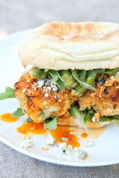 Buffalo Chicken Meatball Subs: Switch up wing night with these spicy, saucy sandwiches