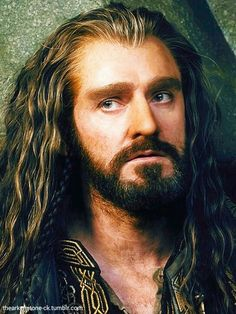 Thorin Oakenshield - I can't get enough of this man... dwarf. :-)