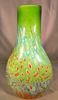 Murano Venetian Hand Blown Art Deco Glass
