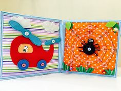 Quiet book by KidsBookStore on Etsy